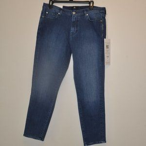 7 FOR ALL MANKIND  SKINNY JEANS WOMENS 32
